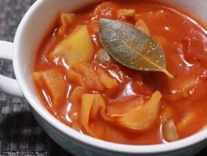 レシピ① 「つぶより野菜」のあったかスープ